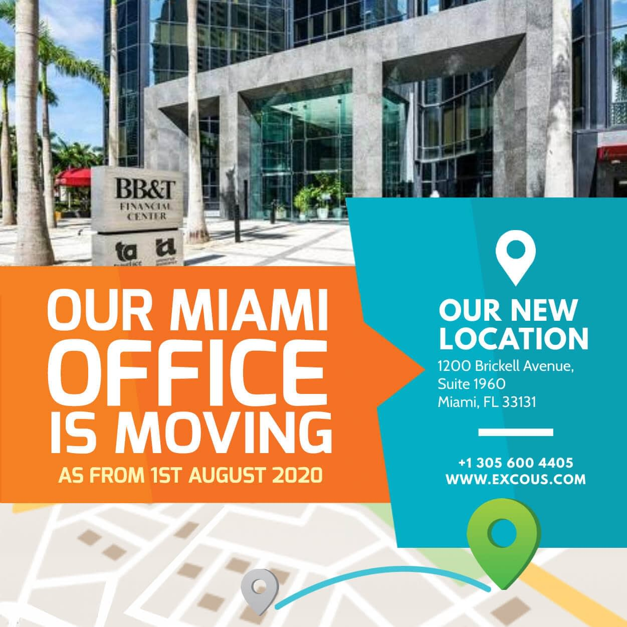 We are moving to Brickell