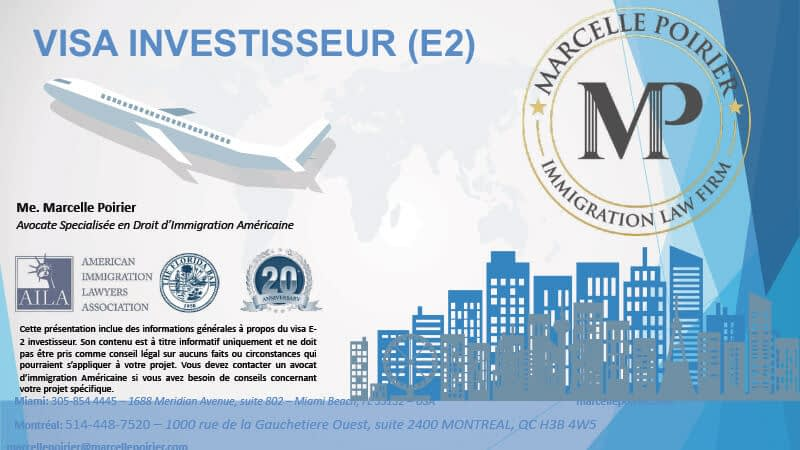 Marcelle Poirier : Immigration aux USA